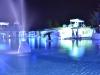 L'incanto della piscina in una magica atmosfera serale