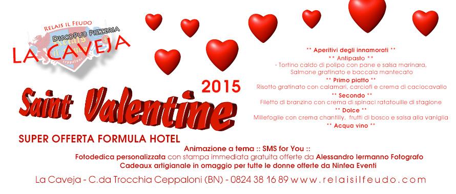 San Valentino 2015 Benevento Lastminute